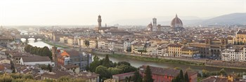 Florence View I Print by Peter Adams