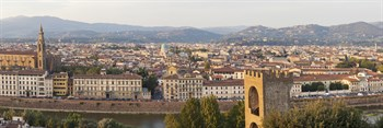 Florence View II Print by Peter Adams