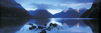 Milford Sound Canvas Print by Peter Adams
