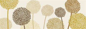 Burnished Alliums Print by Linda Wood