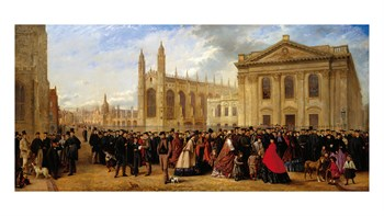 Degree Morning, Cambridge, 1863 Print by Robert Farren
