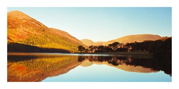 Amber Lake I Print by Chris Simpson