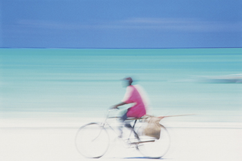 Coastal Spin Print by Peter Adams