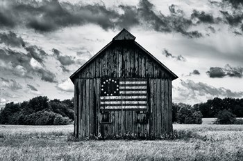 Country Barn Print by Martin Smith