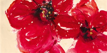 Exotic Reds Print by Lilian Scott
