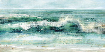 Breaking Waves Print by Paul Duncan