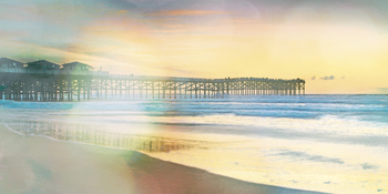 California Cool - Jetty Print by Chuck Brody