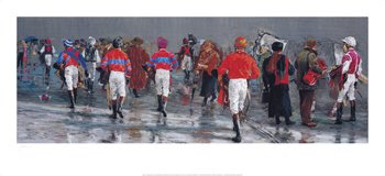 After the Race Fine Art Print by Jay Boyd Kirkman