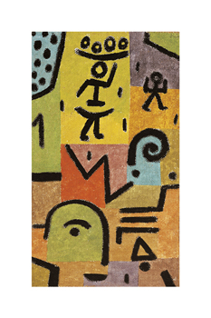 Zitronen Print by Paul Klee