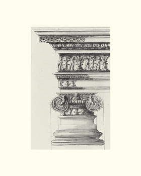 English Architectural II Print by The Vintage Collection
