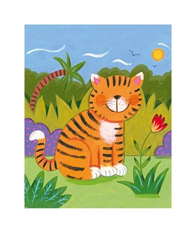 Baby Tiger Print by Sophie Harding