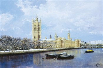 Westminster Print by Clive Madgwick