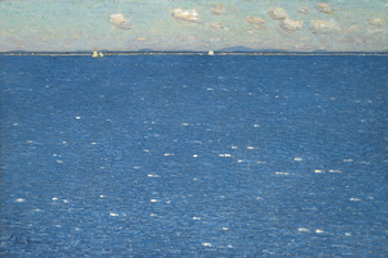 The West Winds, Isles of Shoals Print by Frederick Childe Hassam