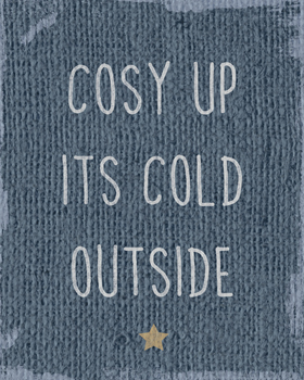 Cosy Up Print by Tom Frazier