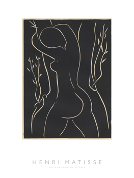 Pasiphae and Olive Tree Print by Henri Matisse