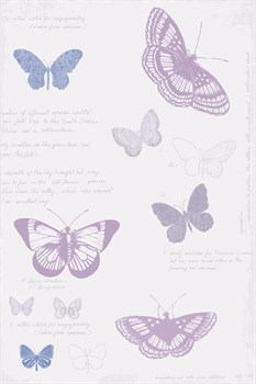 Butterfly Sketchbook Print by Maria Mendez