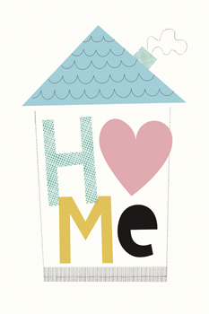 A Place To Call Home Print by Sophie Ledesma