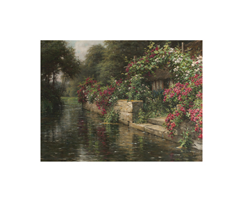 Along the River Fine Art Print by Louis Aston Knight