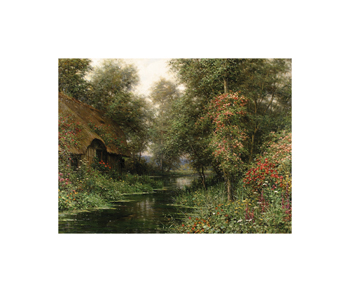 Diane's Cottage in June Fine Art Print by Louis Aston Knight