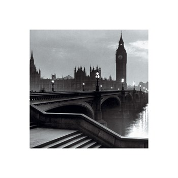 Bridge With Big Ben Print by The Chelsea Collection