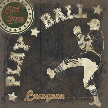 All Star League Print by The Vintage Collection