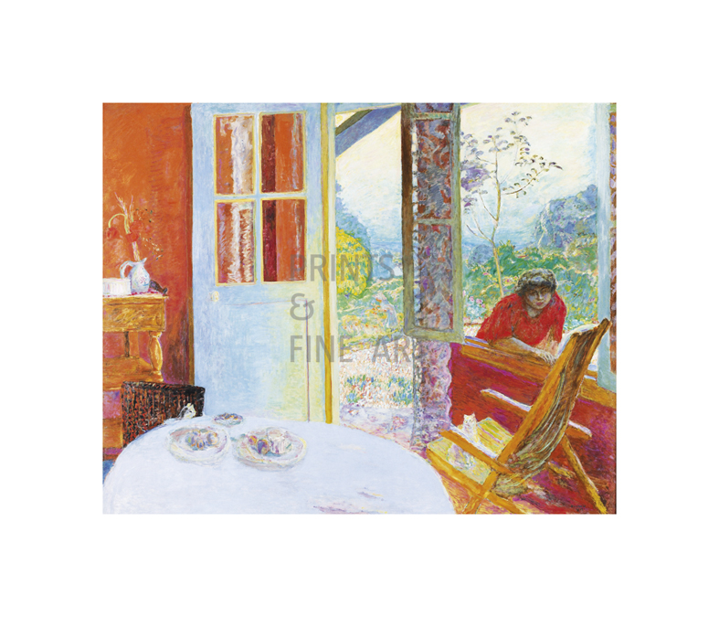 The Dining Room In Country By Pierre Bonnard